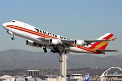 N706CK, Kalitta Air, Boeing 747-4B5FSCD, KLAX, December 2017 (a2md88) Tags: