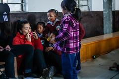 Making Of Origami Ball. (酷哥哥) Tags: nagarkot nepal nepalese children