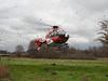 Die Angermünder Luftretter bei einem Einsatz im Dezember (Foto Daniel Stibitz) (DRF Luftrettung) Tags: stationangermünde christoph64 luftrettung drfluftrettung hubschrauber ec135