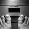 Fußabdruck (Sascha Knauf) Tags: weihnachten nachtaufnahmen analog kodaktrix400 800 push kodakxtol happyshooting hskilo