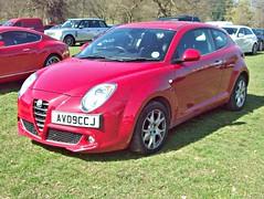 123 Alfa Romeo MiTo (Typ.955)  Lusso JTDM (2009) (robertknight16) Tags: alfaromeo alfa italy 2000s mito diaz weston av09ccj