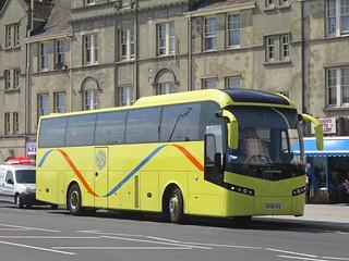 Southgate & Finchley Coaches of Friern Barnet MV08HVW