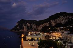 Island of Capri (AgarwalArun) Tags: sony a7m2 sonyilce7m2 landscape scenic nature views amalfi amalficoast italy europe costieraamalfitana unescoworldheritage bayofnaples salerno capri islandofcapri nightscene nightcitty acitybythenight marina