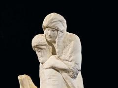Pietà Rondanini # 2 (schreibtnix on 'n off) Tags: reisen travelling italien italy mailand milan kunst art museum skulptur sculpture michelangelo pietàrondanini olympuse5 schreibtnix