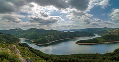 ... out there, away ... (nickneykov) Tags: nikon d7000 nikond7000 tokina 1116 tokina1116mm panorama landscape rhodope mountain forest dam kardzali bulgaria water breathtakinglandscapes