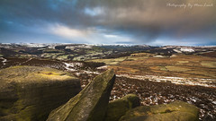 Over Owler Tor Winter (marc_leach) Tags: overowlertor heathersage hopevalley peakdistrict nationalpark rockformation snow winter storm sky landscape canon manfrotto055xprob tokina1116mm