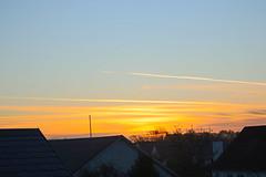 Vintersolhverv ved solopgang.
