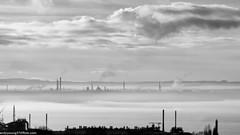 Runcorn Hill-28 (andyyoung37) Tags: merseyestuary mist runcorn runcornhill silhouette cheshire industry rivermersey england unitedkingdom gb
