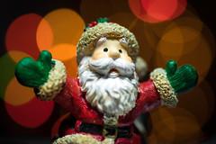 It's Christmas!!! (grbush) Tags: macromonday memberschoicebokeh bokeh christmas deorations christmaslights fatherchristmas santaclaus santa festive holidays beard lights colour sonya7 tamronaf90f28disp macromondays