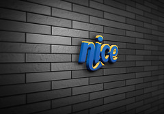 3D-Wall-Logo-MockUpnice (shopbd) Tags: logodesign classic effect indieground insignia label mockup presentation retro style text type typography