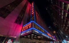 Radio City Music Hall (dansshots) Tags: dansshots nikon nikond750 wideangle nyc newyorkcity newyorkatnight iloveny rokinon rokinon14mm radiocity radiocitymusichall