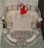New Year 2018 on Ice (Mary (Mária)) Tags: poppyparker integritytoys fashionroyalty doll toys winter newyearseve newyear2018 iceskating iceskates iceskatingrink candelabrum clock santaclaus dress handmade marykorcek dollphotography fahionistas fashion fashiondollphotography dollcollector myfroggystuff christmas snow ice