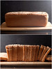 Spelt Bread, baked and sliced (Pitzpootzim) Tags: spelt bread boulangerie