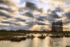 Überflutete Elbwiesen (PhotoChampions) Tags: flood landscape meadow rural sun rays sunrays sky clouds water wasser fluss landschaft wolken himmel sonnenstrahlen sonne hamburg deutschland germany elbwiesen