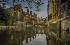 Bridge of sighs,Cambridge (y.mihov, Big Thanks for more than a million views) Tags: cambridge bridge sightseeing sonyalpha sigma 1224mm sighs university st johns college river riverbank autumn trespass travel tourist trees town city reflections chimneys architecture buildings water europe england englanduk famous