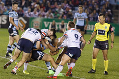 Sharks v Roosters Round 26 2017_154.jpg (alzak) Tags: 2017 australia cecchin city cronulla league matt nrl roosters rugby sharks sydney action sport sports