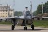 Polish Air Force MiG-29GT 4110 41.elt, taxiing back to the platform, Malbork Air Base (Jeroen.B) Tags: airbase malbork mig29 poland polen aircraft jet mikoyangurevich mig29gt mig 29 mig29ub twoseater 4110 n50903006448