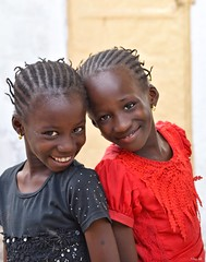 Twins! (Nina_Ali) Tags: twins thegambia africa girls streetphotography ninaali