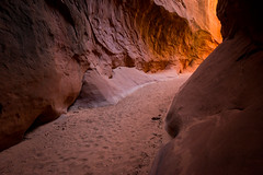 follow the light (Sam Scholes) Tags: redrockcountry utah robbersroostwilderness slotcanyon neverstopexploring exploring canyoneering canyoncountry dirtydevil southernutah hanksville