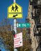 W 196 St Street Name Sign, Fort George, New York City (jag9889) Tags: 196street 2017 20171125 architecture building fortgeorge house manhattan ny nyc newyork newyorkcity outdoor post school sign signpost sky street text tree usa unitedstates unitedstatesofamerica uppermanhattan w196street w196thst wahi washingtonheights west196thstreet jag9889