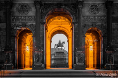 The Portal (funtor) Tags: dämmerungnacht dresden sachsen germany city building night color architecture