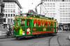 190 : Wiehnachts Drämmli (Thomas Naas Photography) Tags: basel schifflände schweiz switzerland fahrzeug outdoor strasenbahnen streetcars bvb basler verkehrsbetriebe wiehnachts drämmli ce22 fischmarktbrunnen weihnachten christmas triebwagen