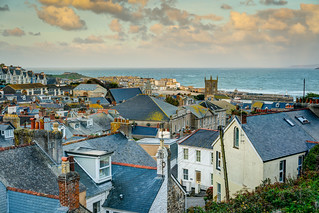 The Rooftops of St Ives - Cornwall.