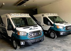 Ohio ambulances (CasketCoach) Tags: ambulance ambulancia ambulanz ambulans rettungswagen krankenwagen paramedic ems emt emergencymedicalservice firefighter fordtransit