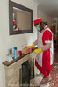 Red Overall & Long Check Tabard 2 08 (Maid Janet) Tags: tabard sissy charwoman domestic housekeeper housewife rubbergloves sissymaid cleaning skivvy cleaner crossdressing putzfrau maid dusting char housekeeping overall housework tranny chores crossdresser housemaid chambermaid scrubber
