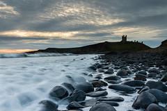 Dunstunburgh (Derek Robison) Tags: castle northumberland dunstanburghcastle places rocks waves dunstnaburgh sea landscape uk silhouette