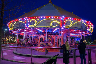Carousel by night