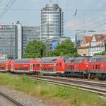 218 444-8 + 218 403 DB Regio München Ost 30.05.12 thumbnail
