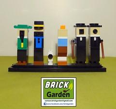 BGD 5003 R0 Tintin minimaliste 02 (BRICK GARDEN) Tags: lego bgd brickgarden afol moc tintin herge minimalism