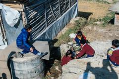 Washing Up (酷哥哥) Tags: nepal children nepalese nagarkot shreetaothali lunch