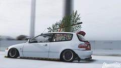 Grand Theft Auto V (TheFaNTaS11) Tags: honda civic ej happy new year merry christmas stance stancenation thefantas11 cambergang california snow snowy sexy girl body photography photo porn car cars clean camber acura rsx nsx 2018 woman girls