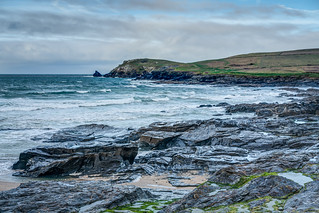 Trevose Head from Constantine Bay - Cornwall.