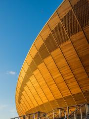 Olympic Velodrome (David A Melville) Tags: velodrome olympicvenue modernarchitecture london stratford olympics cycling