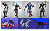 2017: Fancy gents and mythical beasts (dviddy) Tags: lego bionicle moc ccbs legomoc herofactory bzpower dviddy deevee actionfigure action figure toy juststandingthere unique coats animals dragon fox trex dinosaur kitsune anime fancy plaguedoctor