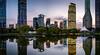 City Park (Rob-Shanghai) Tags: lujiazui shanghai china leicaq leica pano night towers skyscrapers