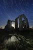 Covehithe church by moonlight (Justin Minns) Tags: startrail suffolk covehithe