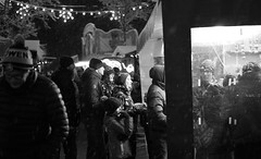XmasFaces (Lothbrock'sYen) Tags: xmas christmas bw blackwhite people market germany
