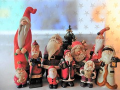 The Family (Hannelore_B) Tags: weihnachten christmas weihnachtsmann santaclaus