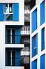 (giuseppe radaelli) Tags: foto architetture architecture grattacieli geometrie riflessi città city monocromo blu blue geometrical milano lombardia italy skyscraper