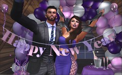 Happy New Year ! toma 2 (Roudoudou Hirons) Tags: firestorm secondlife secondlife:region=watertupelo secondlife:parcel=intothewoods secondlife:x=188 secondlife:y=15 secondlife:z=78 mundosvirtuales virtualword avatar avatares couple friends happynewyear felizañonuevo añonuevo newyear 2018 ultravioleta pantone balloons globos marketplace rou omenposes entice maitreya catwahead exile deadwool
