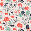 ig_lotus (yuanxudesign) Tags: lotusflowers waterlillies sufacepatterndesign artlicensing patterndesign printandpattern fabricdesign textiledesign