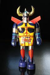 Gaiking Tin Wind-Up ( Popy 1970's ) (Donald Deveau) Tags: popy tintoy windup japanesecharacter japanesetoys gaiking shogunwarriors robot sciencefiction toys toyphotography vintagetoy