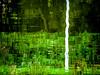 canal side, emerald memories (szélléva) Tags: abstract emerald green light reflection riverside memories