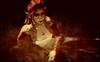 Les Champs De Blé Ensanglantés (☺ ChimKami ☺ Rushing In Slow Motion !) Tags: portrait epic feelings shadow virtual digitalart artwork art photography secondlife sl 3d metaverse chim chimkami emotion surrealist explore mesh photoshop light dream scene imagination creativity design awesome stylish weird fantasie tale fantasy lea16 itakosprojectartgallery painting expression closeup portrature artportrait digitalportrait reflexion introspection thinking sepia monochrome field jossfloss red elf woman grass