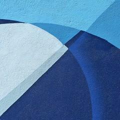 soma blues II (msdonnalee) Tags: muraldetail blue blu blau bleu azul 青blauأزرقbleuazzurroazul azurro geometry geometrie abstract abstracto abstrait abstrakt square calle11