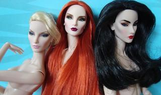 OOAK Key Pieces Elyse Jolie, OOAK Dark Phoenix Elyse Jolie & OOAK On the Rise Elyse Jolie
